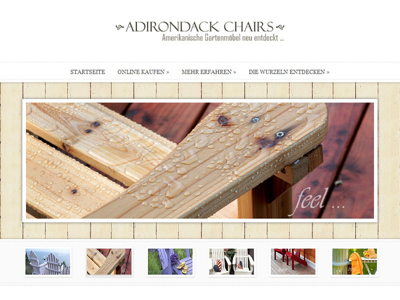 Wordpress reference: Adirondack-Chairs