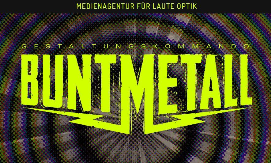 Magento reference: Gestaltungskommando BuntMetall
