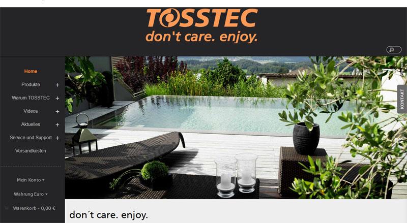 Magento reference: Tosstec