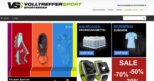 Magento reference: VolltrefferSport